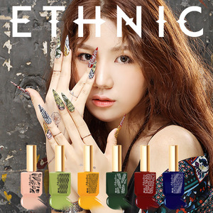 [MOSTIVE] 에스닉 칼라 젤 폴리시/ ethnic color gel polish