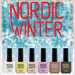 [MOSTIVE] 노르딕 윈터 칼라 젤폴리시 / NORDIC WINTER COLOR GEL POLISH